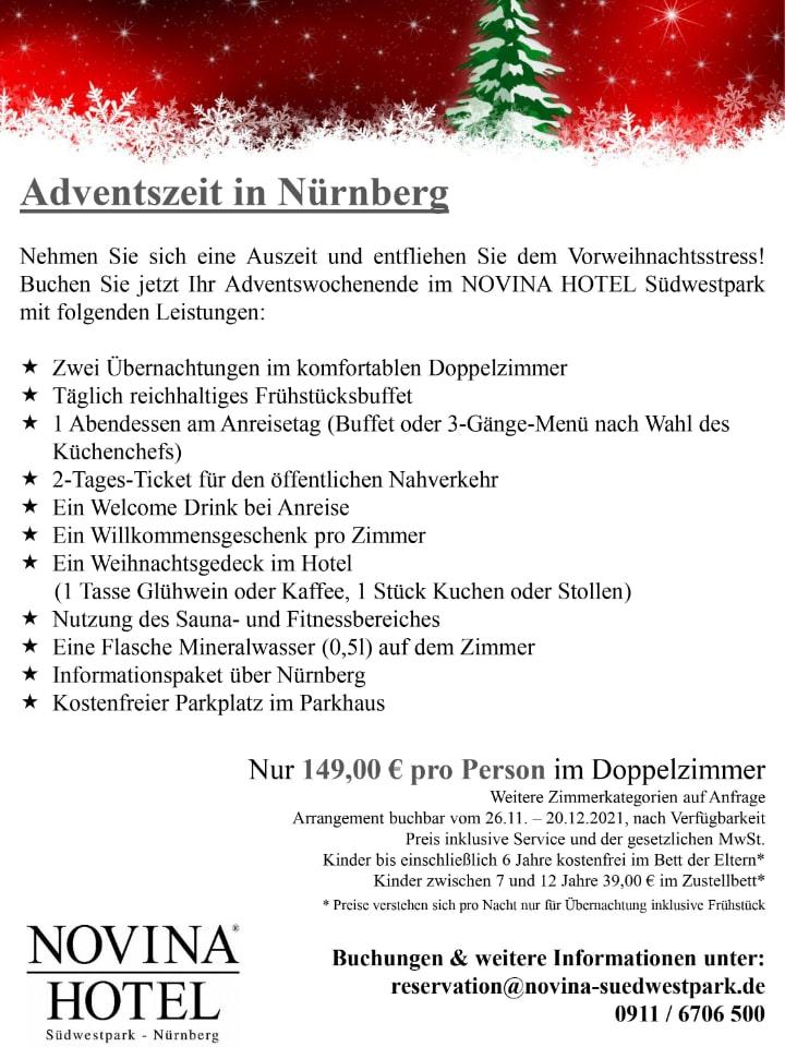 Adventszeit Nürnberg 2021